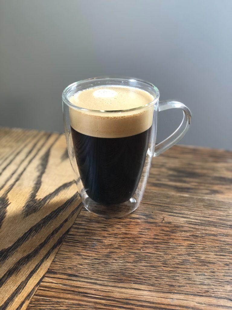 Espresso med skum