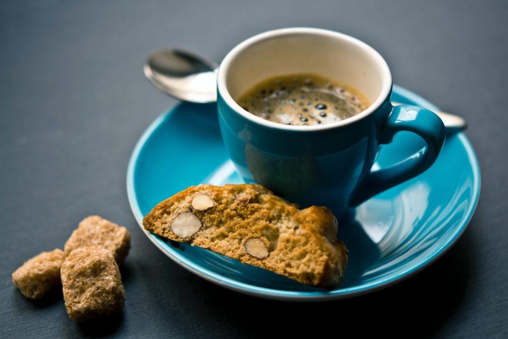 Espresso med biscotti
